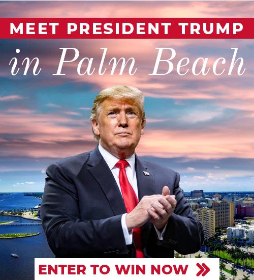 Meet President Trump in Palm Beach, Florida