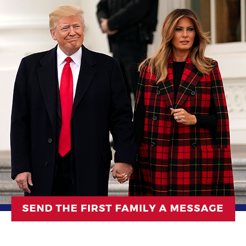 Wish the First Family a Happy New Year.