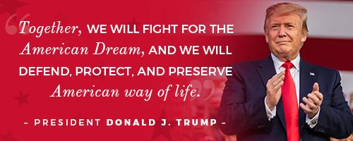 President Donald J. Trump Quote